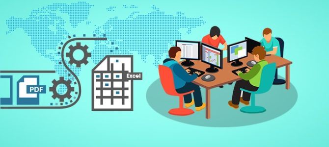 Outsourcing PDF to Excel Conversion Leads to Success in Indian BPO