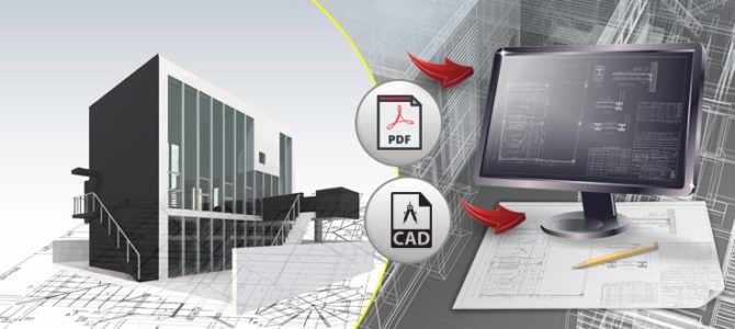 Outsource PDF to CAD Conversion for Engineering Works