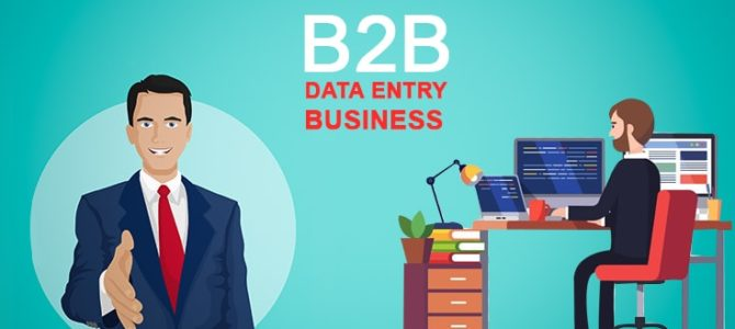 Benefits of Outsourcing Data Entry Services in B2B Business