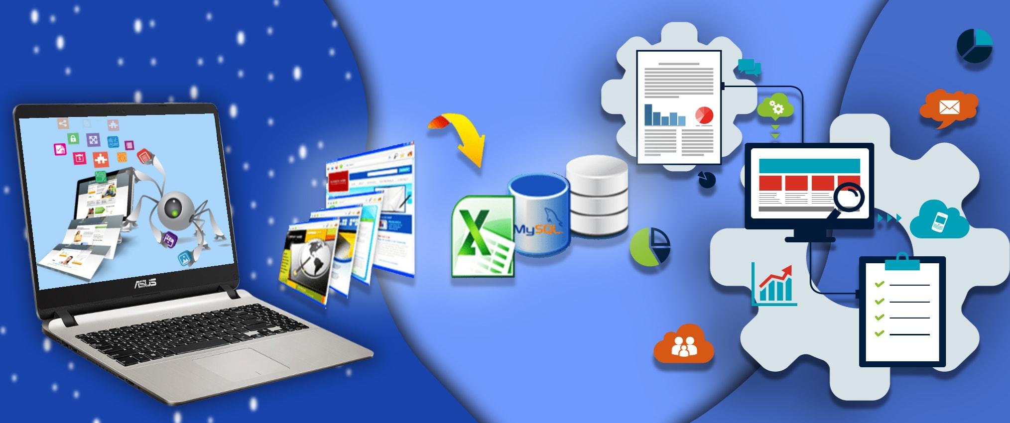 outsourcing web data scraping