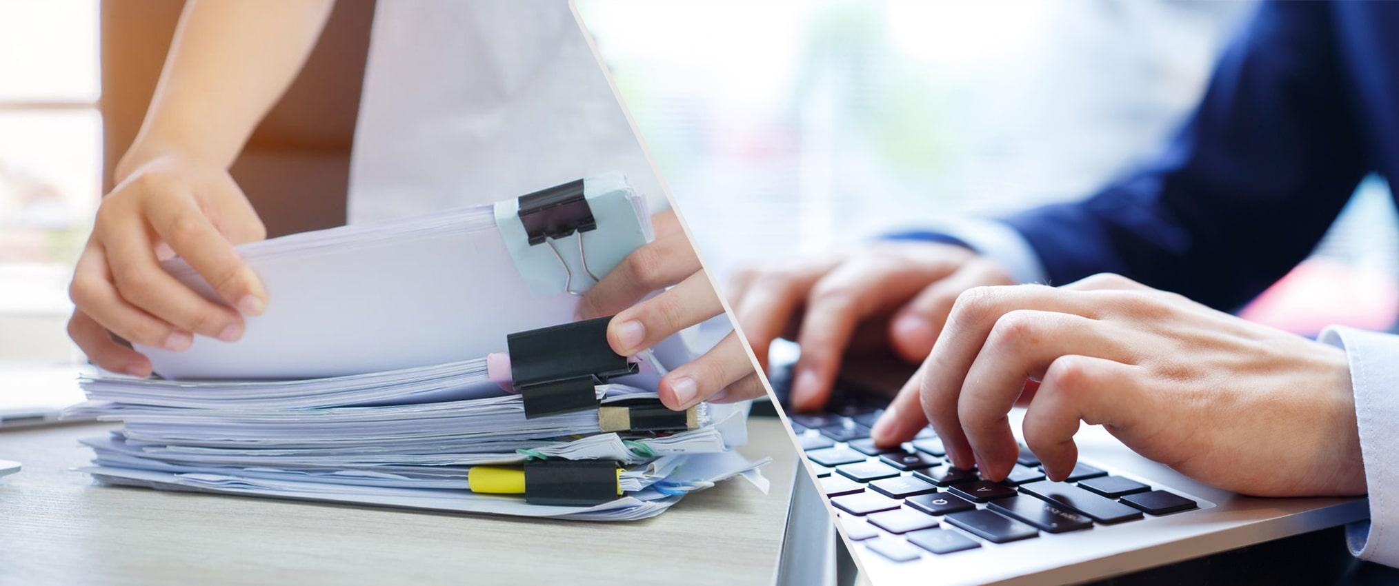 digitizing document record healthcare