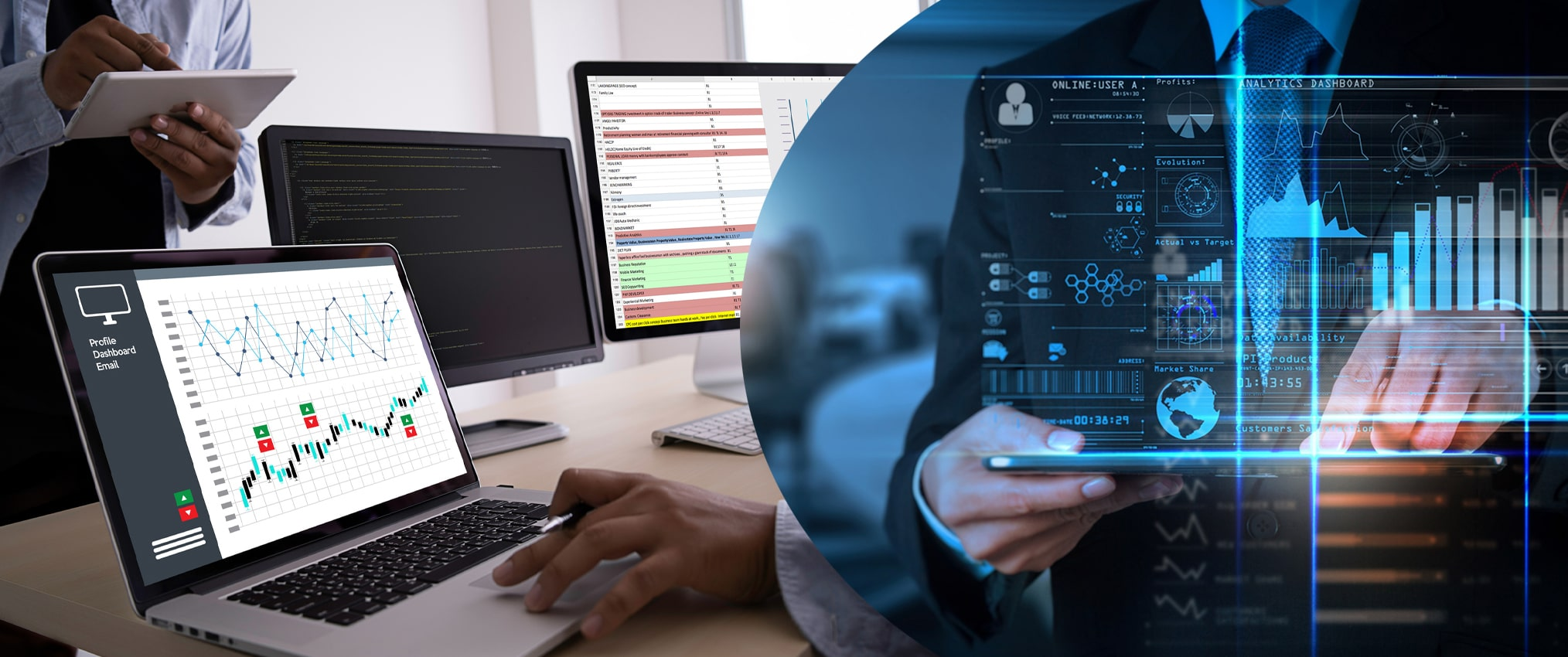 online survey processing data analytics